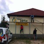 Fassadenbeschriftung 3D Buchstaben Pflege Aktiv Templin