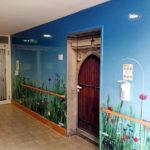 Flurwerbung im Landsitzhotel Templin durch Rieck Beschriftungen