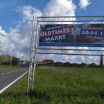 Werbefläche am Ortseingang Templin